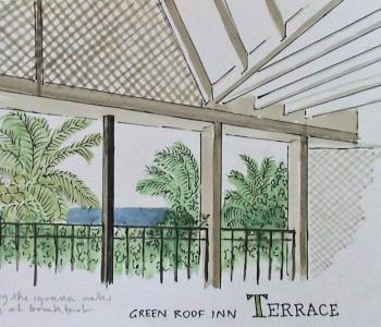 Terrace painting