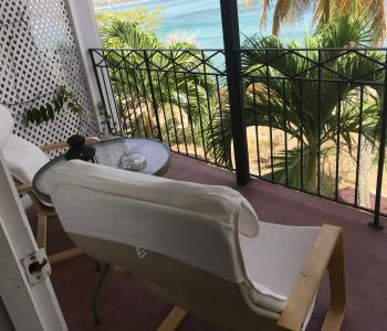 Upstairs suite balcony
